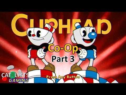 Gardening with Cups! Let's Play Cuphead Co-op Pt. 3