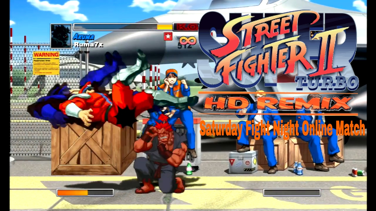 Play Street Fighter