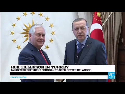 Rex Tillerson in Turkey: what are the main points of contention between Ankara and Washington?