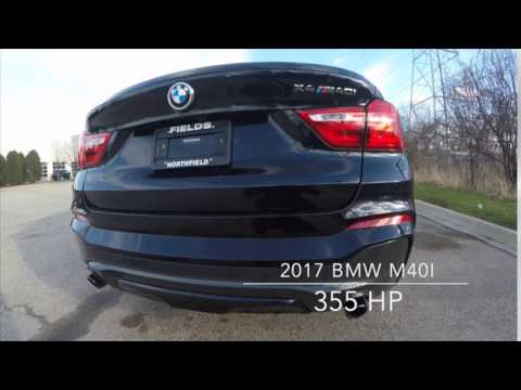 exhaust on the 2017 bmw x4 m40i from fields bmw northfield youtube. Cars Review. Best American Auto & Cars Review