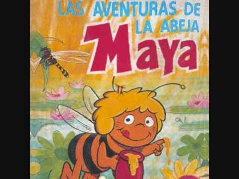 ♫  LA ABEJA MAYA  ♫    (cancion infantil en castellano )