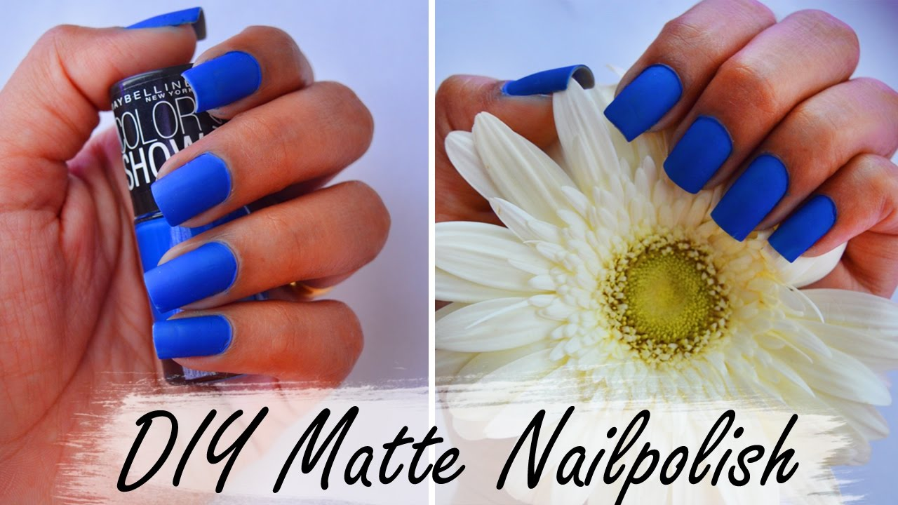 How To Make Nail Polish Matte With Steam - Creative Touch