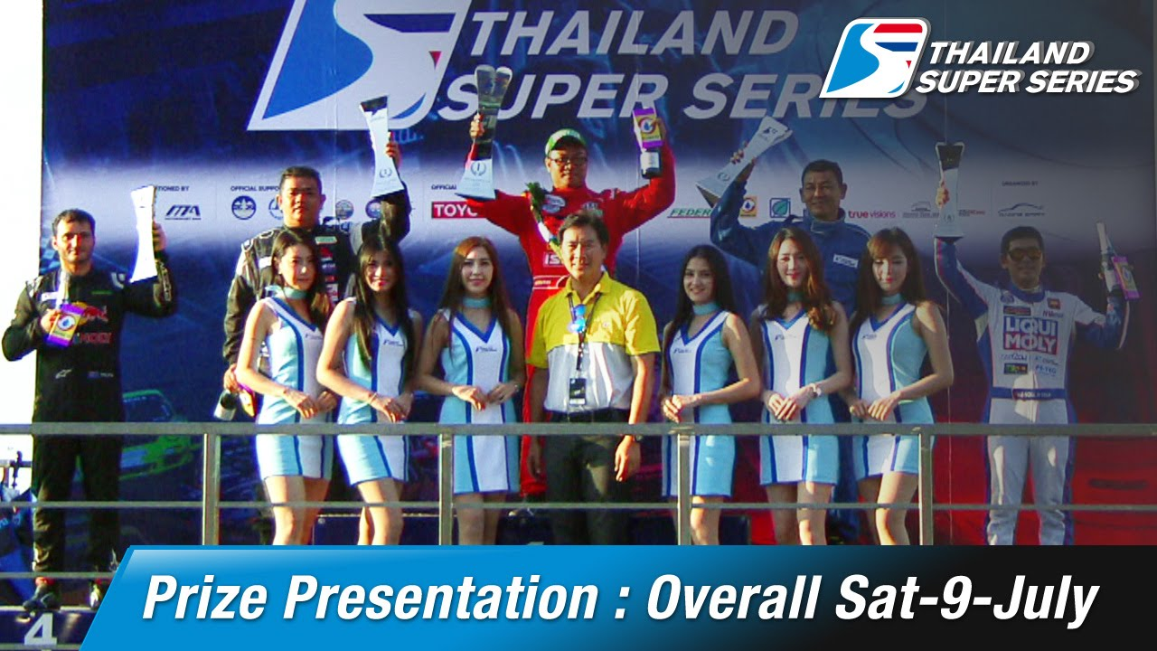 Prize Presentation Overall Sat-9-July | Chang International Circuit