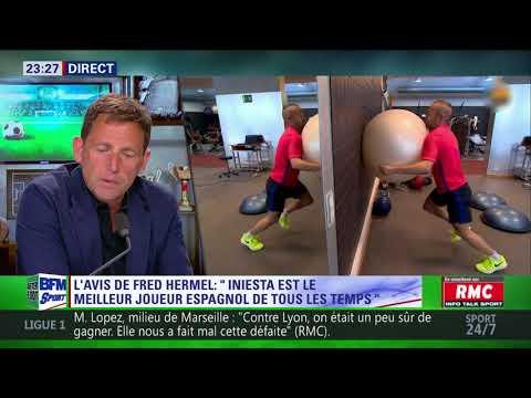 After Foot du lundi 23/04 – Partie 5/6 - L'avis de Frédéric Hermel sur Iniesta