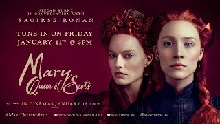 SINÉAD BURKE IN CONVERSATION WITH SAOIRSE RONAN, FRIDAY 11th JANUARY, 3PM