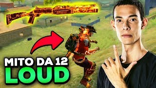 LOUD VINIZX: O MELHOR RUSHADOR DE 12 DO FREE FIRE! (DUO CRUSHER FOOXI) thumbnail