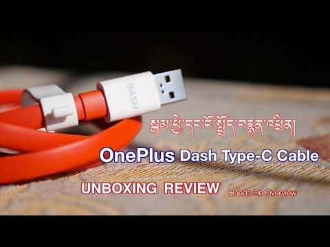 OnePlus Dash Charge USB Type-C Cable : Unboxing & Review