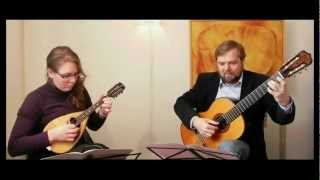 Souvenir de Bovio by E. Zerega (London ca. 1900) - A Romance for Mandolin & Guitar.