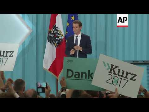 People's Party leader declares victory in Austria election