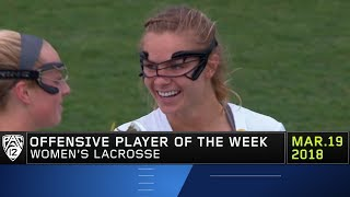 USC's Kerrigan Miller earns Pac-12 Women's Lacrosse Offensive Player of the Week accolades