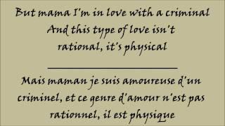 Britney Spears - Criminal - Lyrics - Traduction Français et Anglais HQ/HD