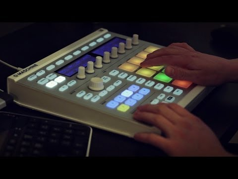 Maschine and FL Studio - Making a dark piano beat