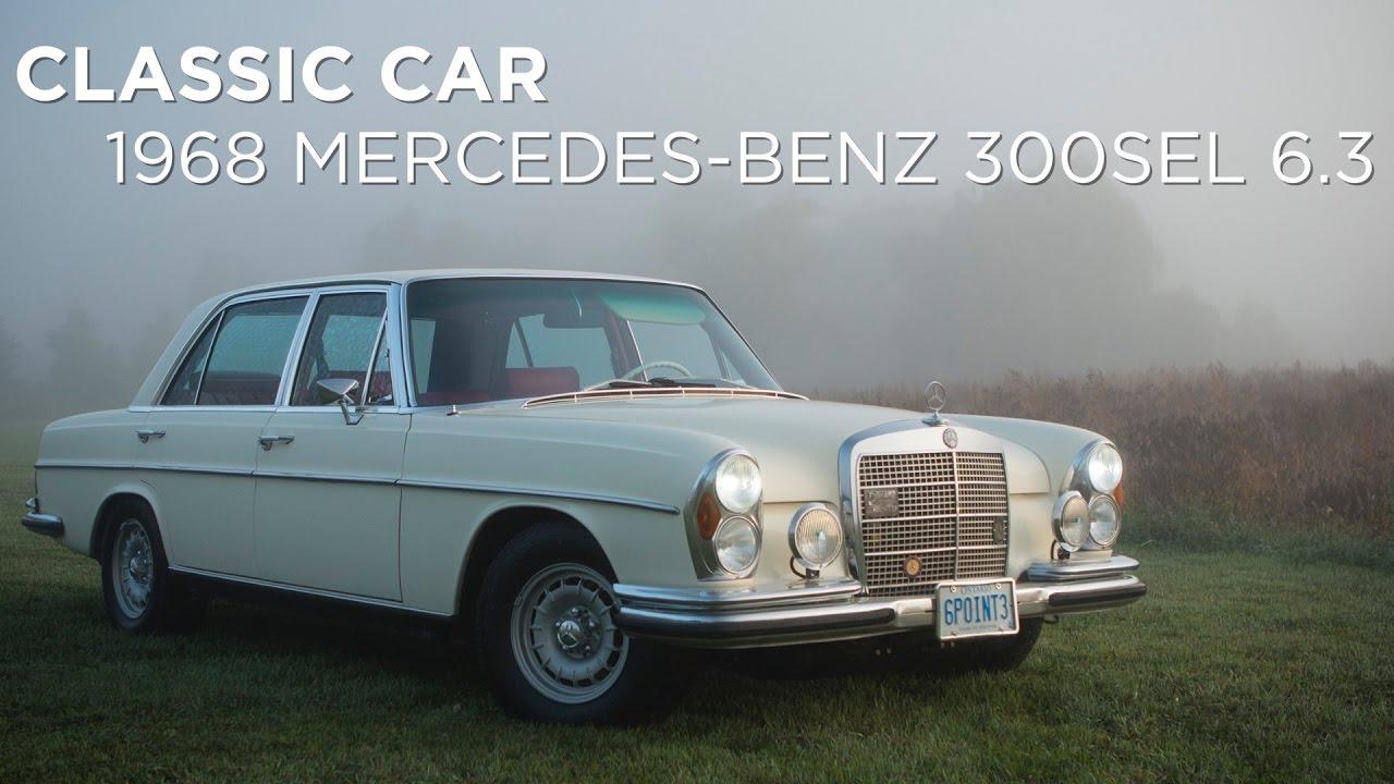 Classic Car Mercedes Benz Driving Ca Youtube