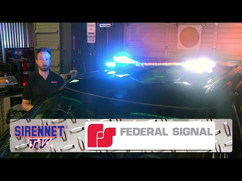 The Federal Signal Valor Light Bar