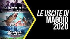 Giochi in uscita Maggio 2020: finalmente Maneater e Xenoblade!