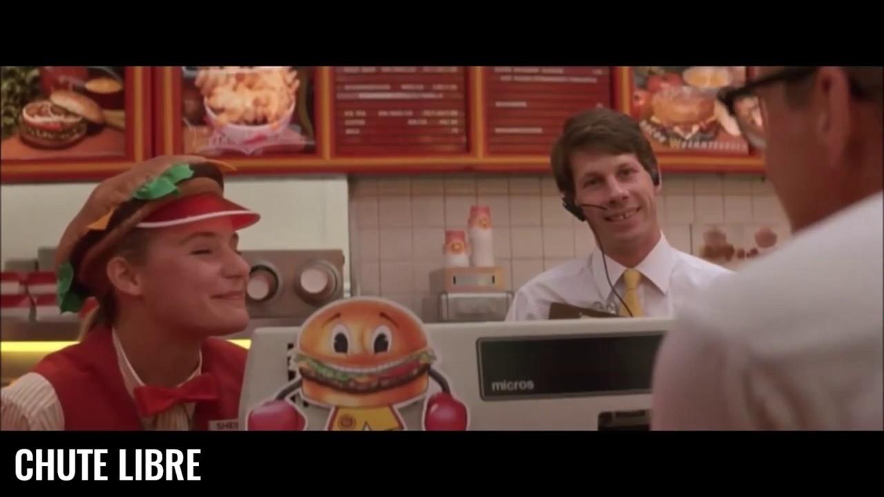 Chute libre - Scène culte – Au fast food