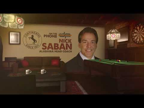 Nick Saban on Alabama Starting the Season Against Florida State | The Dan Patrick Show | 8/21/17