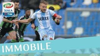 Il gol di Immobile - Sassuolo - Lazio 0-3 - Giornata 26 - Serie A TIM 2017/18