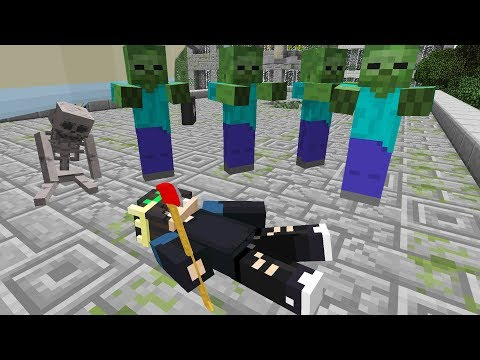 видео: Я СМОГ ВЫЖИТЬ [Часть 1]  Зомби Апокалипсис в Майнкрафт (Minecraft сериал про зомби)
