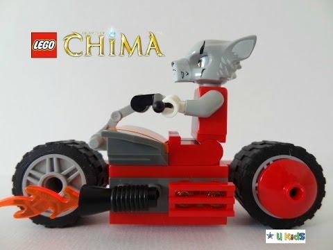 สอนต่อเลโก้ เลโก้ชิม่ากับรถชอปเปอร์  วิดีโอของเล่นเลโก้