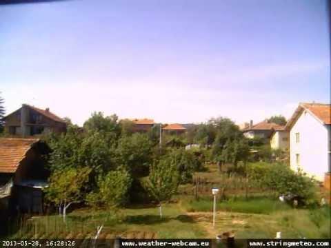 Time Lapse video from webcam Novi Iskar, Sofia, Bulgaria - may 2013