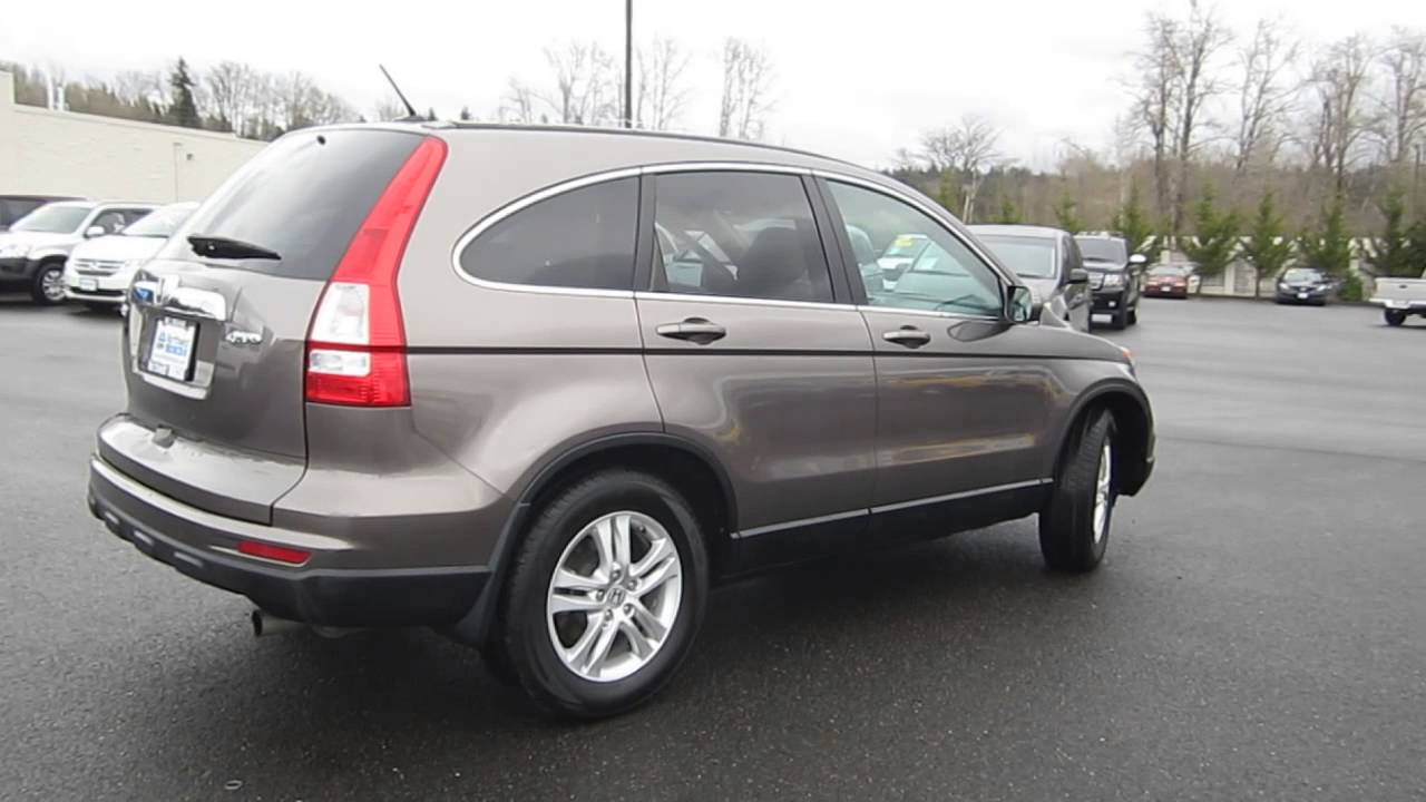 2011 Honda Cr V Urban Titanium Metallic Stock B2476