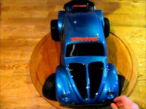 slash  volkswagen baja bug body rc youtube
