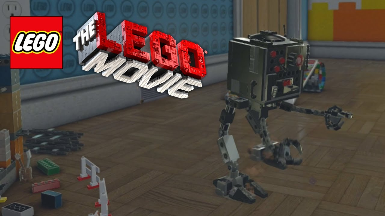 Lego Movie Videogame Golden Instruction Build 11 Micro Manager Youtube