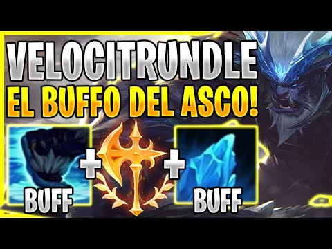 😱¡ESTE BUFFO HACE QUE TRUNDLE SEA LA COSA MAS ASQUEROSA DEL LOL XD! *TRUNDLE BUFF OP*