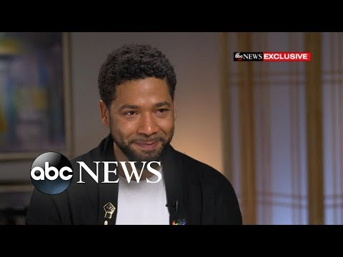 Jussie Smollett's message to LBGTQ community after alleged attack | GMA