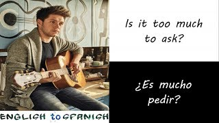 Niall Horan - Too Much To Ask (Letra Ingles y Español)