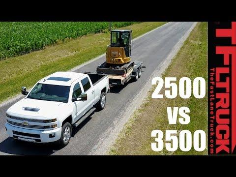 Silverado Duramax 2500 vs 3500: Do You Need a Dually When Towing?