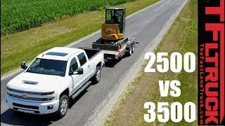 silverado duramax 2500 vs 3500 do you need a dually when towing?
