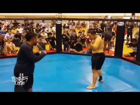 "War in the Cage 5 [Fight 23]: ""อสุรา vs ใหญ่คับฟ้า"" Heavyweight (-265lb)"