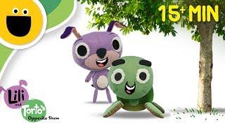 Lili & Torto's Opposite Show! Full Episodes   15 min Compilation! (Sesame Studios)