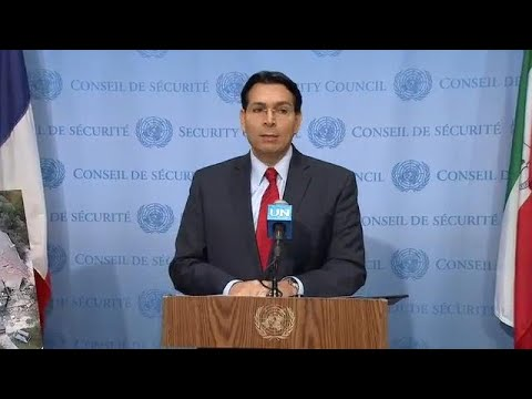 Israel on Gaza-Israel situation - Media Stakeout (26 March 2019)