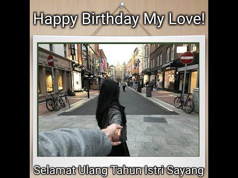 Suami bule nyanyi happy birthday bhs Indonesia :)