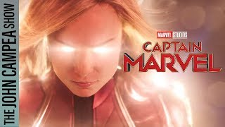 The First Captain Marvel Trailer Is Here - The John Campea Show