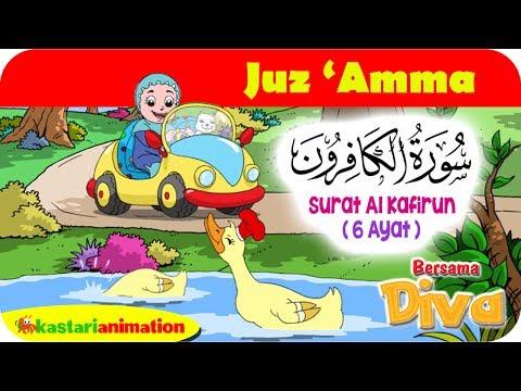 QS. AL KAFIRUN | Mengaji Juz Amma Bersama Diva | Kastari Animation Official
