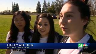 A Modesto high school student recently diagnosed with cancer was ma...
