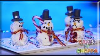 Christmas Cake Snowmen (How To) Feat: FREAKMO