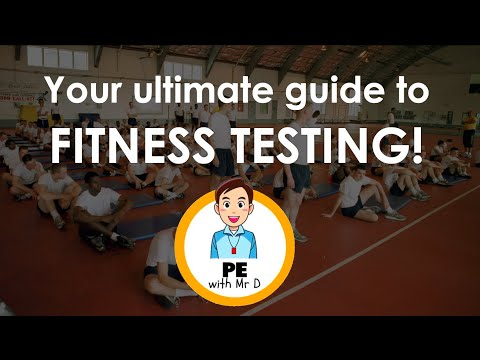 Fitness Testing at Home | 11 Tests for Students, PE Teachers & Personal Trainers