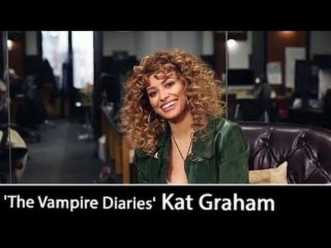 'The Vampire Diaries' Final Season: Kat Graham | Interview December 21, 2016