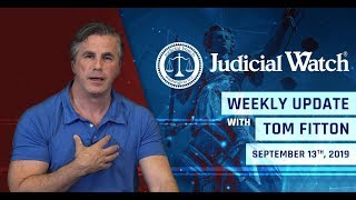 Judicial Watch Tom Fitton: Finally, a Prosecution of the Deep State? NEW DOJ/State Docs CONFIRM Coup