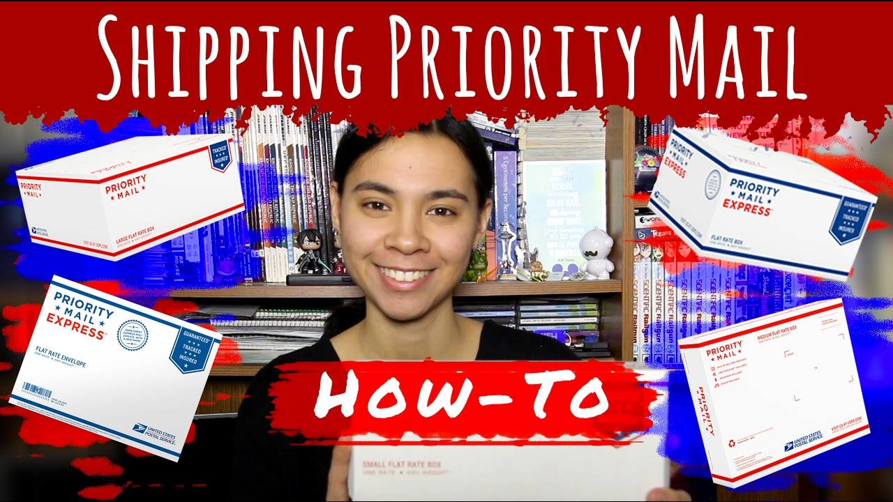 How To Ship USPS Priority Mail - YouTube