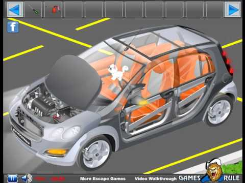 Cutaway Car Escape Video walkthrough