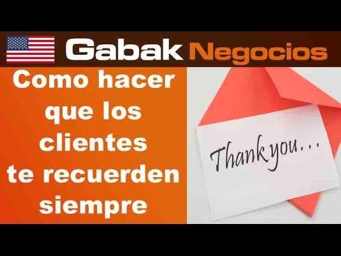 como hacer para que tus clientes te recuerden carta de agradecimiento