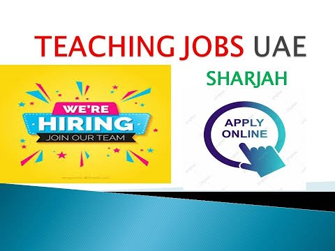 #Overcome #teaching How To Get Teaching Jobs In Sharjah UAE