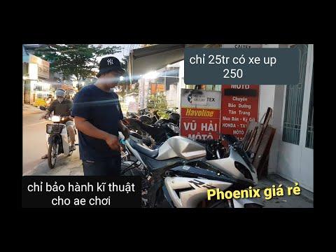 Phoenix 175: Giá cực rẻ 25 tr - up 250 - bảo hành kĩ thuật cho anh em chơi