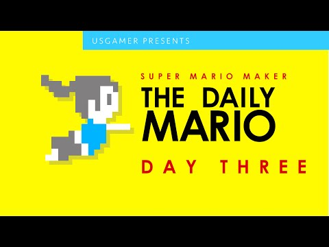 The Daily Mario: Day 3 With Super Mario Maker | Sea-nanigans